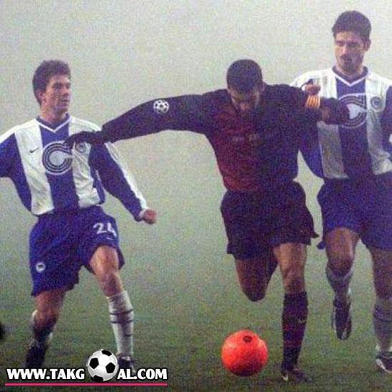 عکس قدیمی فوتبالیستها